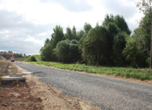 Строительство дорог в коттеджных поселках