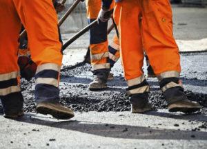 Ремонт асфальтового покрытия дорог